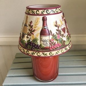 Wine Lovers Yankee Candle Large Jar Shade Topper